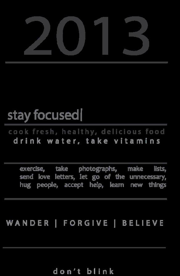 2013 Manifesto